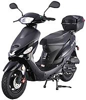 TAO TAO 50CC SCOOTER Street Legal in all States (ATM50-A1) w/ Beautiful Black Wheels *Rear Trunk Included*