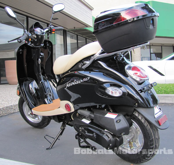 New Under 50cc Moped 49cc Retro Vintage Gas Scooter Motor