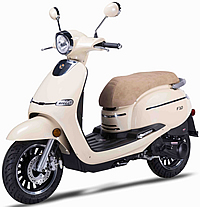 "2017 ZNEN 150cc Scooter F10-150 with 12"" Big Tires, Dual Disc Brakes, Remote start, Anti-theft Security Key Ignition and Alarm System, USB Port, EPA/DOT/CARB 99.9% assembled. Free shipping to your door, free helmet and 1 year bumper to bumper warranty."