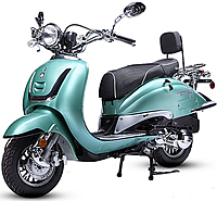 BMS Heritage 150cc Scooter Special Edition w/ Remote 99.9% assembled