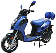 "ROKETA 50cc Moped Scooter CITY-50 w/ 12"" Big Tires (MC-01K-50)"