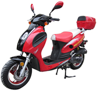ROKETA 50cc Moped Scooter CITY-50S with 10