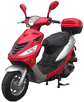 "NEW! ROKETA 50cc Scooter Fully Automatic Eagle-50 w/ 10"" Tires (MC-110-50)"