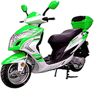"""99% Assembled ROKETA 150cc Gas Scooter Fully Automatic with 13"""" Big DOT Tires, LED Style Lights (MC-137-150). Free shipping to your door with a free scooter helmet, 1 year warranty."""