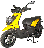 "ROKETA 50cc Moped Scooter CITY-50 w/ 12"" Big Tires (MC-31-50). Free shipping to your door with a free scooter helmet. 1 year warranty."