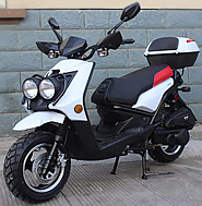 "ROKETA 150cc Moped Scooter CITY-150 w/ 12"" Big Tires (MC-31A-150). Free shipping to your door with a free scooter helmet. 1 year warranty."