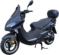 "99% Assembled ROKETA 150cc Scooter TOURING-150 w/ Windshield, Radio, MP3, Speakers, 13"" Big Tires MC-46Y-150. Free shipping to your door with a free scooter helmet. 1 year warranty."
