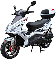 "ROKETA 150cc Scooter with 12"" DOT Tires, All New Body Design, LED Style Lights (MC-48-150)"