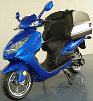 "99% Assembled ROKETA 150cc Scooter with Oversized Rear Luggage Box, Large Backrest, 13"" Big Tires (MC-63-150)"