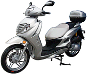 "ROKETA 150cc Big Scooter with 16"" Tires and Dual Disc Brakes MC-70-150"