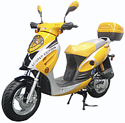 "ROKETA 50cc 2 Stroke ""Limited Edition"" Moped Scooter MC-T07-10 (90% assembled)"