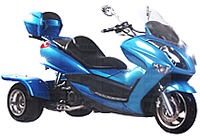 Ice Bear CRUISER 150cc Motor Trike Moped Scooter PST150-11
