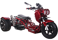 "Ice Bear MADDOG 150cc Motor Trike PST150-19N with 12/14"" Big Tires"