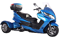 Ice Bear CYCLONE 150cc Motor Trike PST150C ~Enjoy the Fantastic smooth ride!