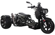"""Ice Bear MADDOG 50cc Motor Trike PST50-19N with 12/14"""" Big Tires"""