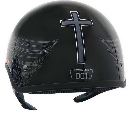 Motorcycle Helmets Dot >> side_XU142-Christian