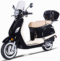 2017 ZNEN Venice 150cc Scooter ZN150T-30A with Windshield, Remote Start, Anti-theft Alarm, Rear trunk, USB Port, White Wall Tires EPA/DOT/CARB, 99.9% assembled. Free shipping to your door, free helmet and 1 year bumper to bumper warranty.