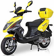 BMS Tuscan 50cc Moped with Remote & 12
