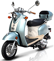 CARB Approved 2015 BMS 50cc Federal-50 Moped Scooter 99.9% Assembled