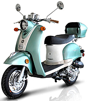 CARB Approved BMS 50cc Federal-50 Moped Scooter 99.9% Assembled