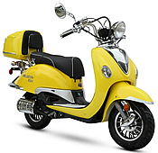 EPA/DOT/CARB Approved BMS Palazzo 150cc Scooter with Remote Control (99.9% Assembled)
