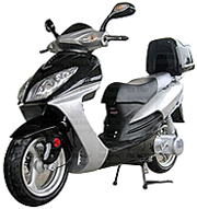 "ICE BEAR 150cc Gas Scooter Fully Automatic with 13"" DOT Tires (PMZ150-3C)"