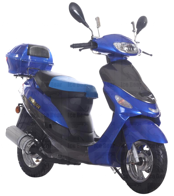 New 2014 49cc Moped Gas Scooter Street Legal Motor Bike