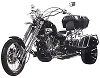 "Ice Bear 250cc Air Cooled Motor Trike ""Road Warrior-250"" 5 Speed Transmission (PST250-1)"
